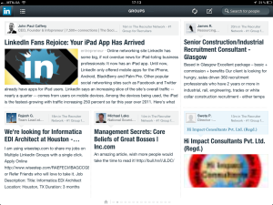 "<h3> LinkedIn iPad App. WeszMadz looks into it.</h3>    <a href=""http://wesley.co.za/newipadapp/"">photo10</a>"
