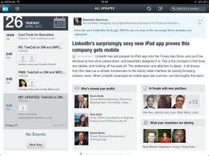 "<h3> LinkedIn iPad App. WeszMadz looks into it.</h3>    <a href=""http://wesley.co.za/newipadapp/"">photo5</a>"
