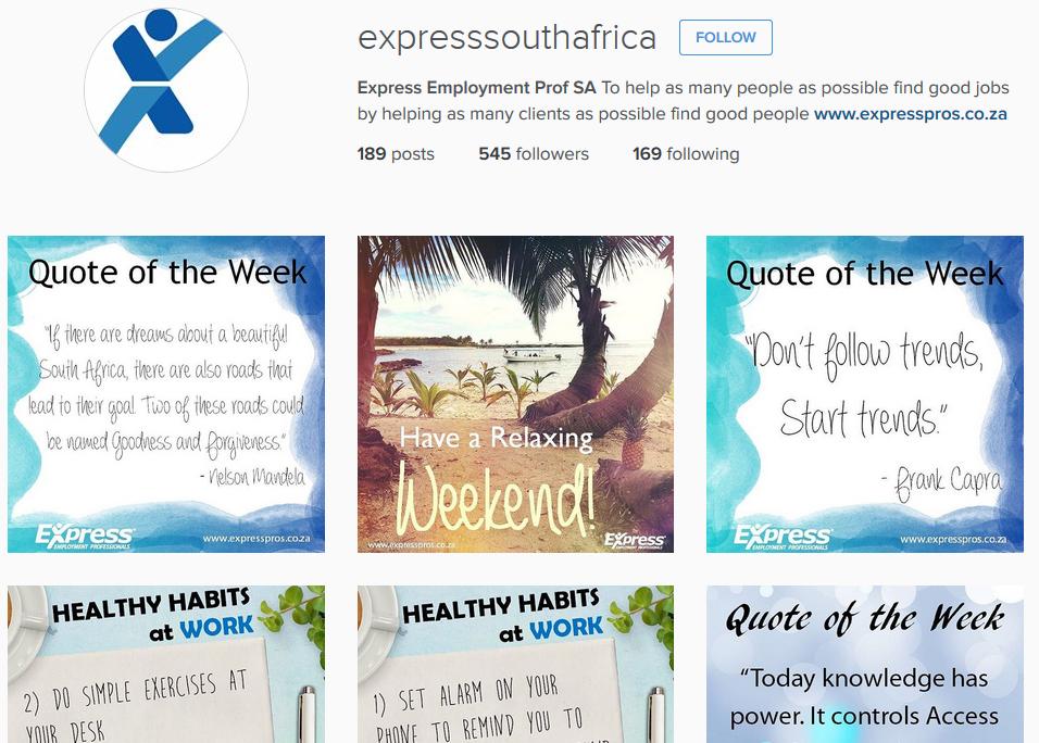 Express SA Insta