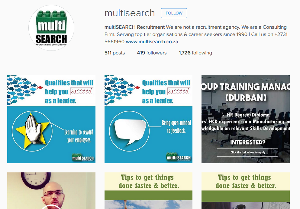 MultiSearch Instagram